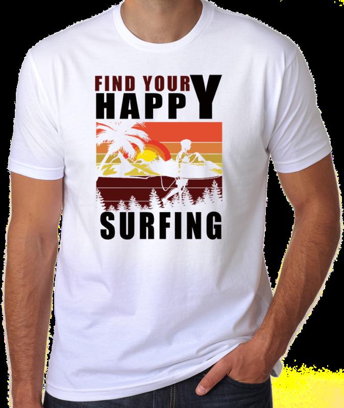 65 Summer Beach Surfing Tshirt Designs Bundles Editable