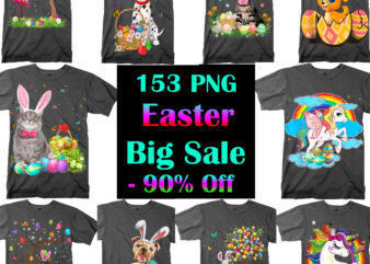 Easter 153 PNG Bundle, Bundle Easter, Happy Easter Day, Easter t shirt design