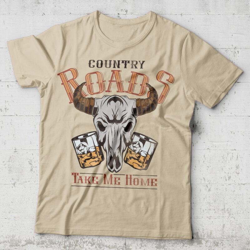 Bone Country Tshirt