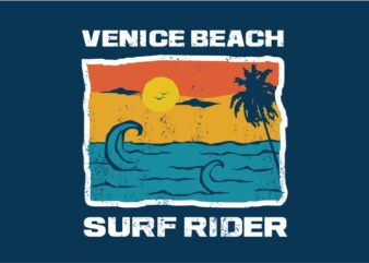 Venice Beach Surf Rider