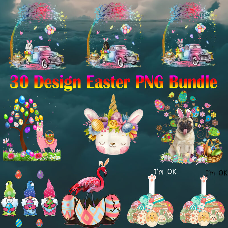 Happy Easter Day, Easter, Easter Bunny Png, Easter t shirt design