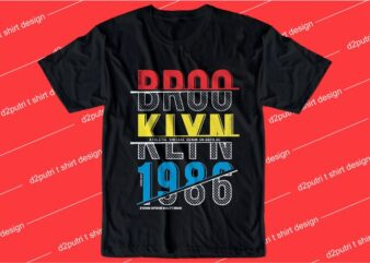 urban street t shirt design graphic, vector, illustration brooklyn california los angeles new york city lettering typography