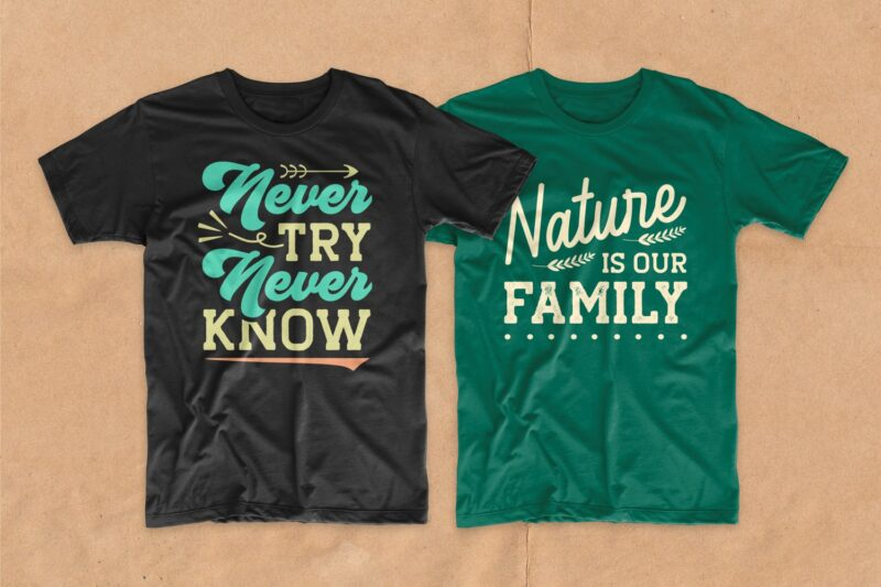 Adventure t-shirt design bundle. Typography t shirt designs quotes pack collection. Vector t shirt design for commercial use