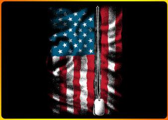 America's dog tag