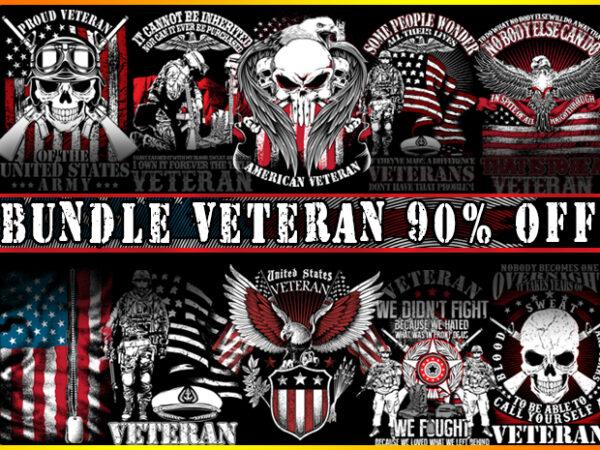 Bundle Veteran t shirt template