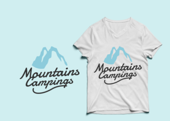 Mountains Campings – adventure tshirt designs , mountain tshirt designs , camping tshirt designs , adventure svg bundle, camping svg , mountain eps – commercial use