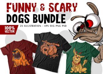 Funny dog t shirt design, funny cartoon bundle sublimation, svg png, pod,