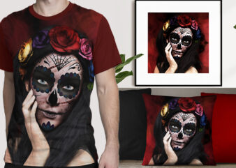 Day of the dead grunge