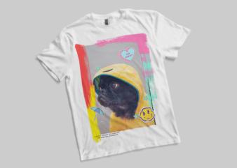 Pug Dog – Pug Dog PNG – Pug Dog PSD – Pug Dog -Pug Dog -Pug Dog – TSHIRT DESIGN