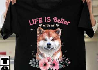 1 DESIGN 50 VERSIONS – DOGS Life is better with a dog called