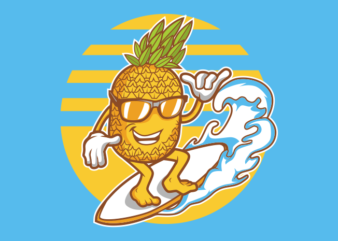 PINEAPPLE SURFING