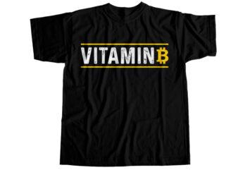 Bitcoin vitamin b T-Shirt Design