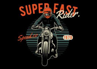 Rider T-shirt design