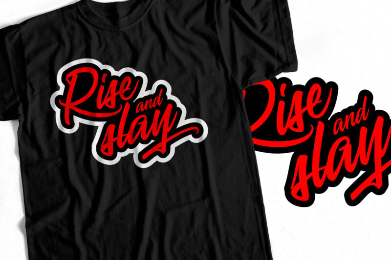 Bundle Offer – Motivational Typography T-Shirt Designs – Pack Of 5