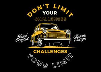 Classic car quote design