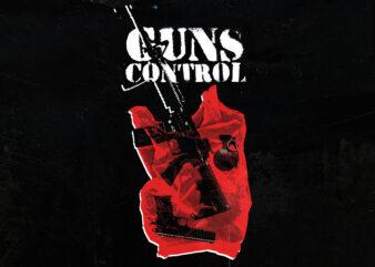 Guns Control t-shirt design