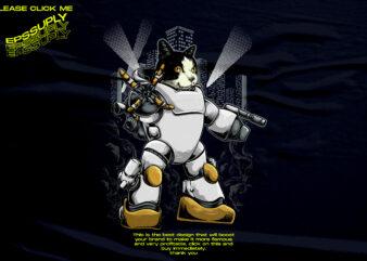 Jugercat mecha, mechanical cat design