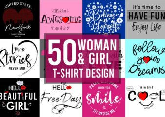 quotes funny motivational inspirational slogan t shirt design bundle graphic for woman and girl, girls, ladies, vector, illustration, lettering typography