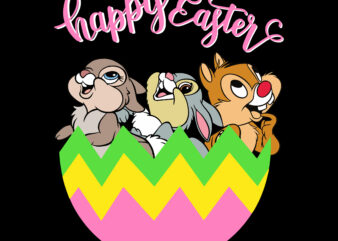 Happy easter day t shirt template, Rabbit egg Easter t shirt design