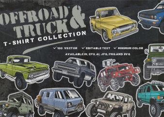 Offroad & truck T-shirt Collection