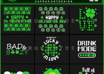 St patrick day 2021 tshirt design Bundle collection