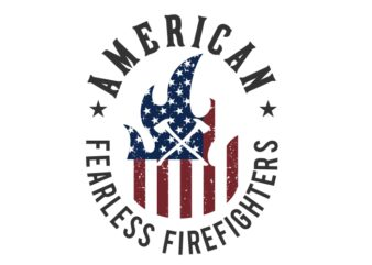 American Fearless Firefighter