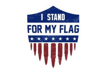 I stand for my flag