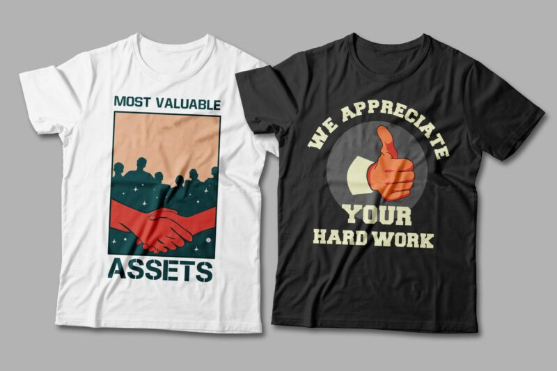 Worker t-shirt designs Bundle. workers day t-shirt design. Labor T shirt design collection. Vector t shirt design for labor and worker. Illustration. Work hard t shirt design pack