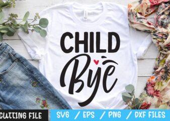 Child bye SVG