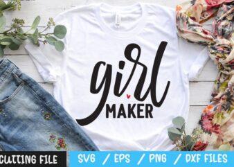 Girl maker SVG