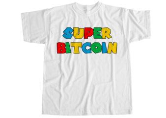 Super bitcoin T-Shirt Design