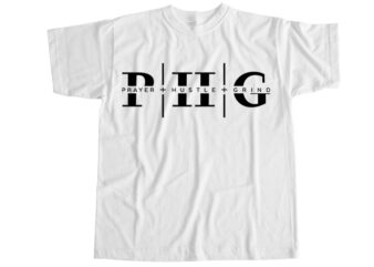 Prayer hustle grind T-Shirt Design
