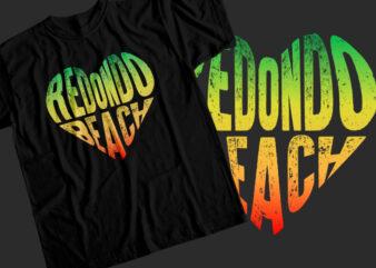 Redondo beach T-Shirt Design