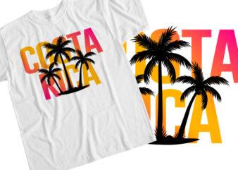Costa rica T-Shirt Design