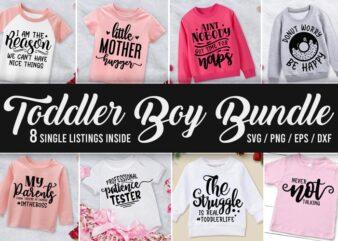 Toddler Svg Bundle, Newborn Baby svg, Kid Shirt Designs