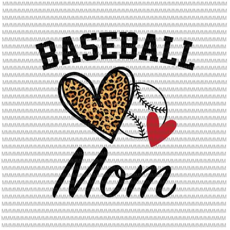 For the love of the game digital download-INSTANT DOWNLOAD-Baseball-Cheetah print
