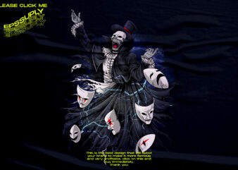 Devil mask Phantom Opera