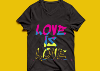 love is love – t shirt design