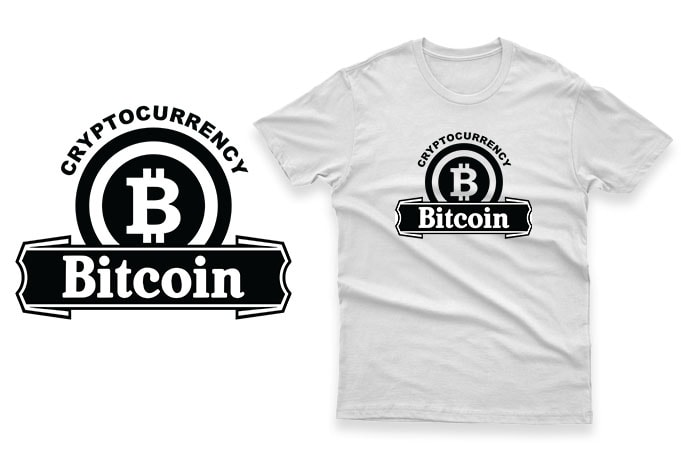 Bitcoin bundle – pack of 25 best selling t-shirt designs for sale 100% Vector AI, EPS, SVG, PNG Transparent