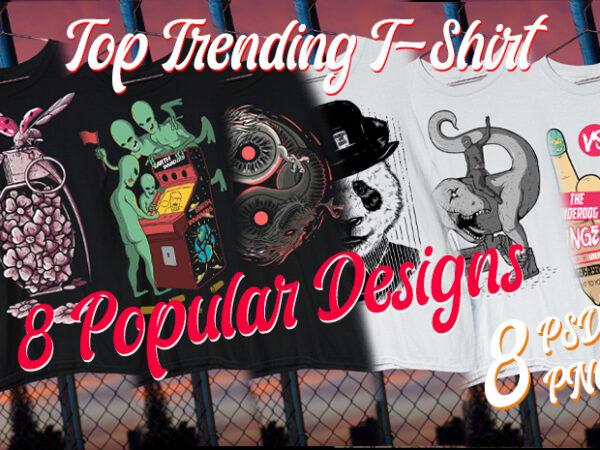 8 Top Trending Bundle Aliens/ Panda/ Love / Dinosour / T Rex / Ninja / Luchador / Sushi
