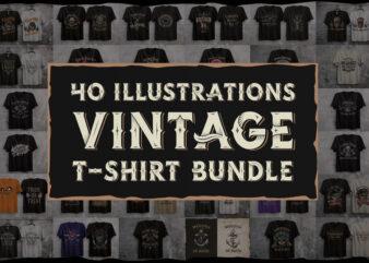 Vintage t-shirt bundle