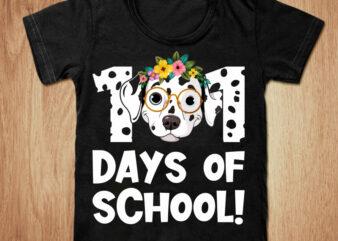 101 days of school t-shirt design, School shirt, Dog t shirt, 101 days t shirt, Baby school tshirt, Funny dog tshirt, 101 days sweatshirts & hoodies