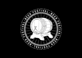Beer Festival Tshirt Design