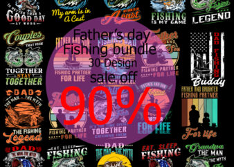 Father's Day Fishing Bundle PNG, Fishing PNG, Father's Day PNG, Holiday PNG, Best Dad Ever PNG, Gift for Dad PNG Instant Download