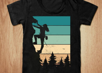 Hiking t-shirt design, Woman hiking shirt, Hiking gift shirt, woman tshirt, funny hiking tshirt, Woman Hiking sweatshirts & hoodies