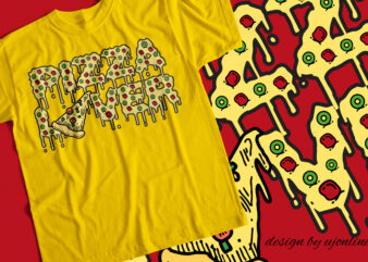 Pizza Lover – T-Shirt Design