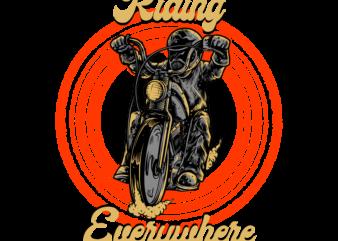 riding everywhere