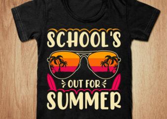 School's out for summer t-shirt design, Summer shirt, School t shirt, school summer tshirt, Summer Baseball t shirt, Summer Paradise t shirt, Funny Summer tshirt, Summer tees
