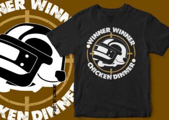 WINNER WINNER CHICKEN DINNER – T-Shirt design