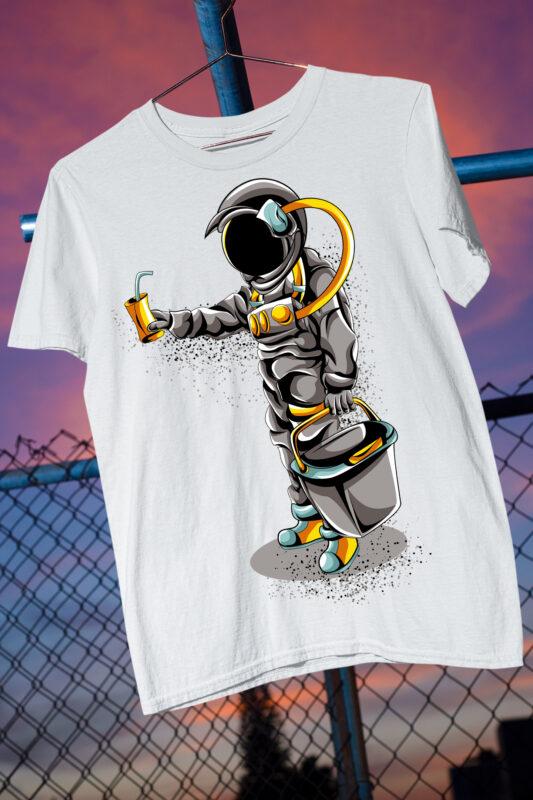 Abstract Astronaut / Space / Interstellar / Space Man / Moon / Aliens/ Man on Moon/ Galaxy / Galactic/ Space Travel / Best Seller Top Trending